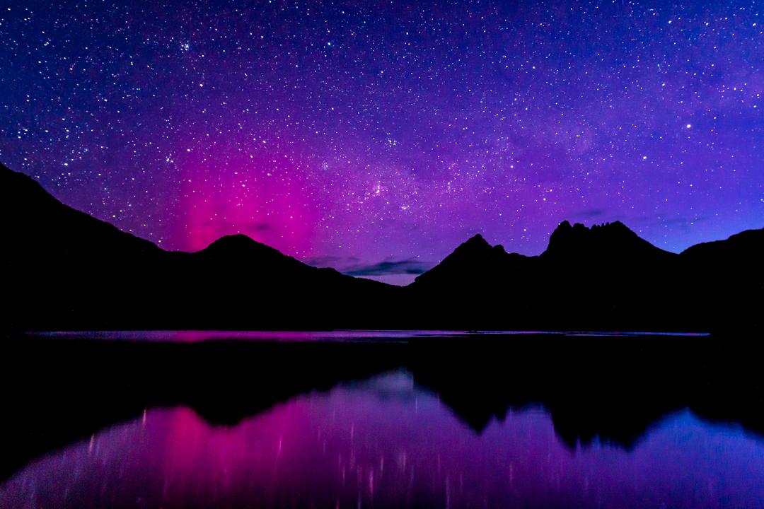 Aurora Australis Cradle Mountain_Tasmania