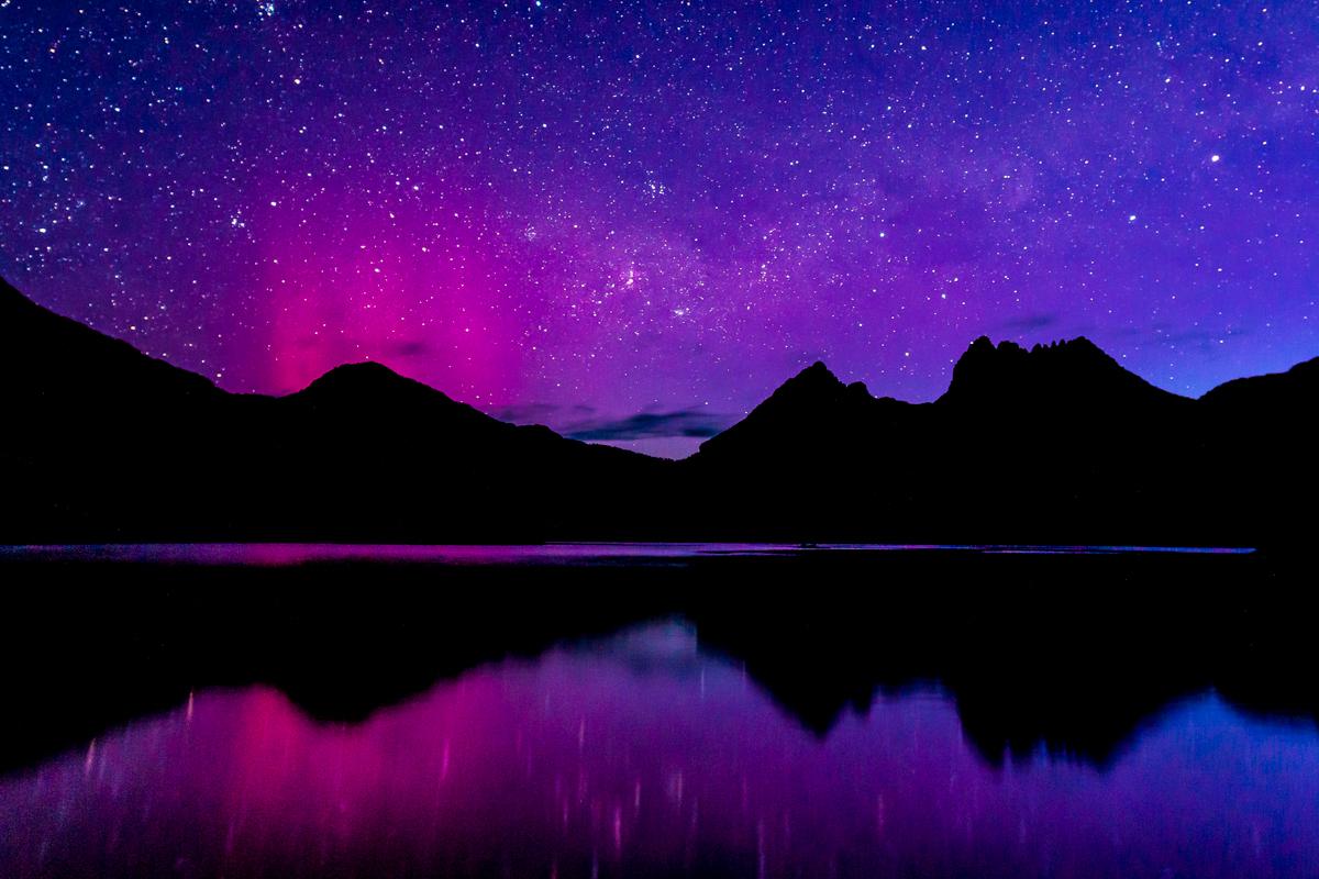 Aurora-Cradle mountain Tasmania