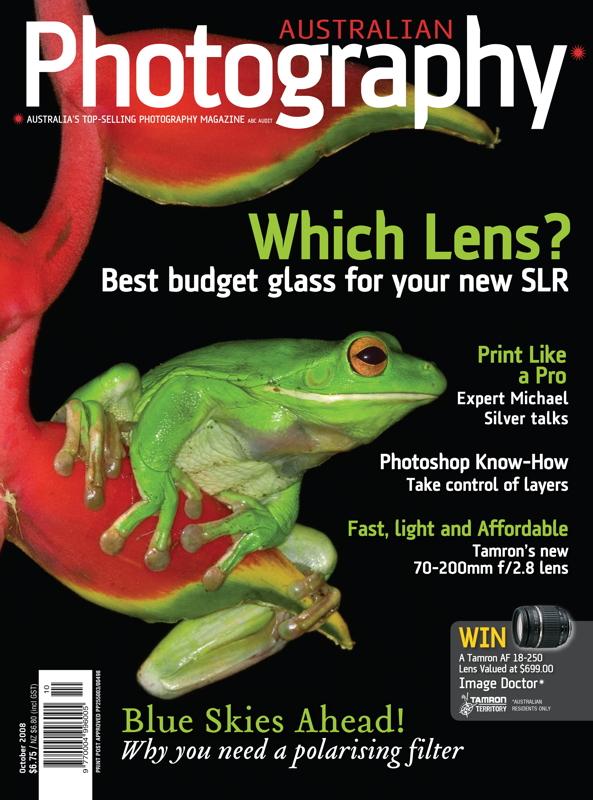 Australian Photography Magazine October 2008