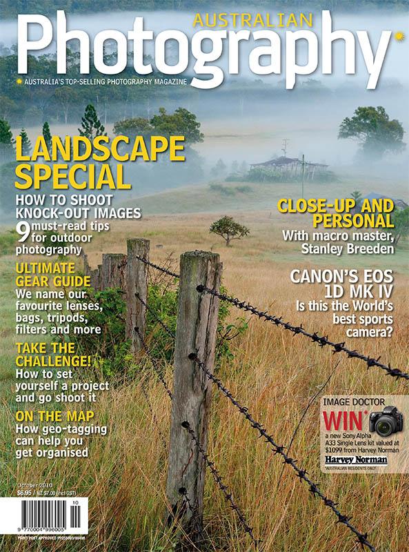 Australian Photography Magazine October 2010