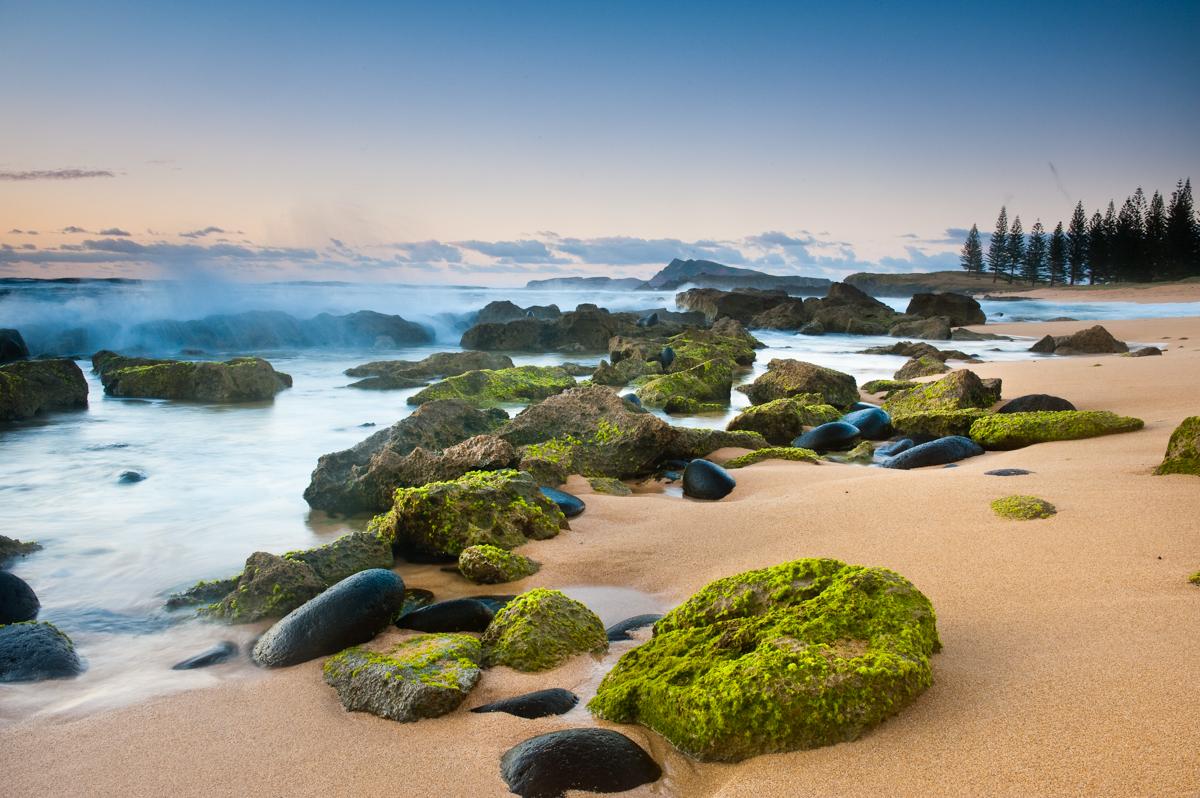 Cemetray Bay Norfolk Island