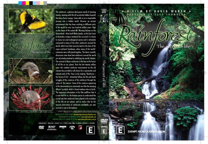 Rainforest – the secret of life ABC DVD