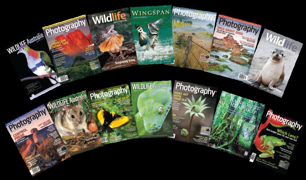 Wildlife & Landscape - mag-cover