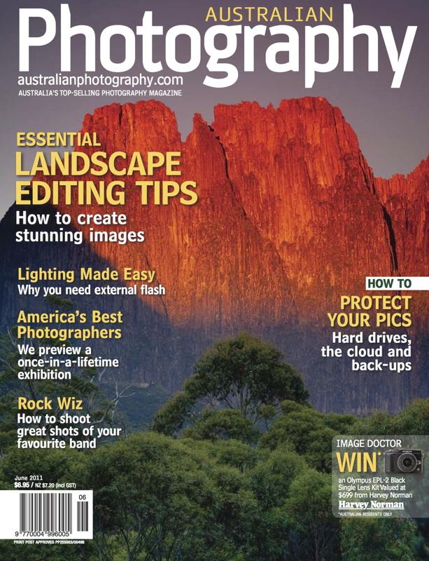 Australian Photography Magazine June 2011