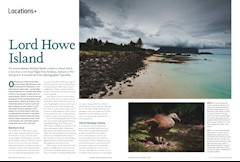 Locations – Lord Howe Island Australian Photography – July 2012