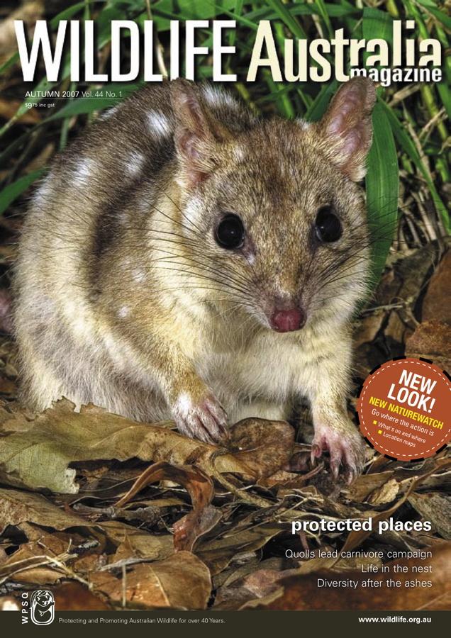 Wildlife Australia Magazine Autumn 2007