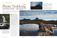 Photo Trekking – Overland Track – Tasmania Australian Photography – December 2011