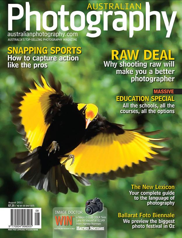 Australian Photography Magazine August 2011
