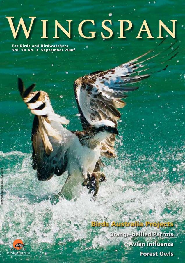 Wingspan Magazine – Birds Australia Spring 2008