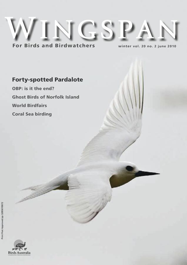 Wingspan Magazine – Birds Australia Winter 2010